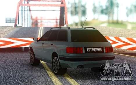 Audi 80 RUS Plates for GTA San Andreas