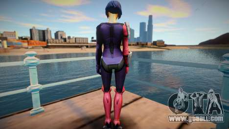 Katana from DC Legends for GTA San Andreas