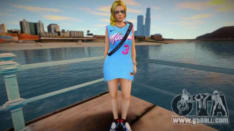 DOA Helena Douglas Fashion Casual V3 Miami Heat for GTA San Andreas