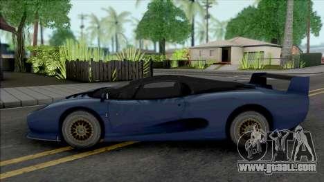 Jaguar XJ220S 1994 for GTA San Andreas