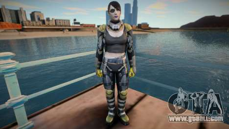 Widow From Shadowgun: Deadzone for GTA San Andreas