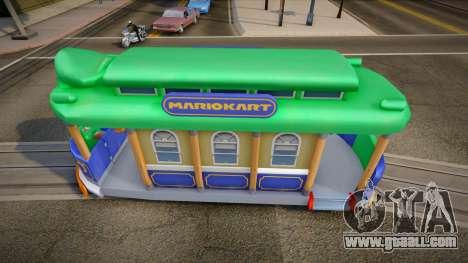 Mario Kart 8 Tram L for GTA San Andreas