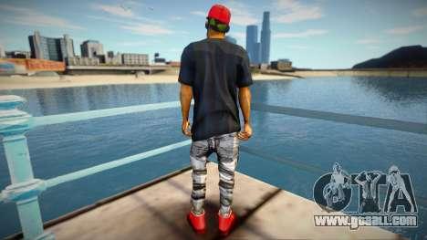 YSL skin for GTA San Andreas