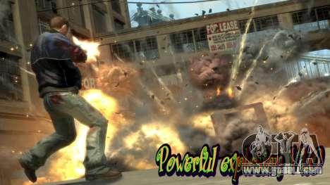 Powerful explosion V1.0 for GTA 4