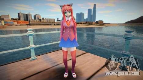 Monika for GTA San Andreas