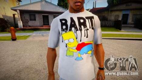 New T-Shirt - tshirt2horiz for GTA San Andreas