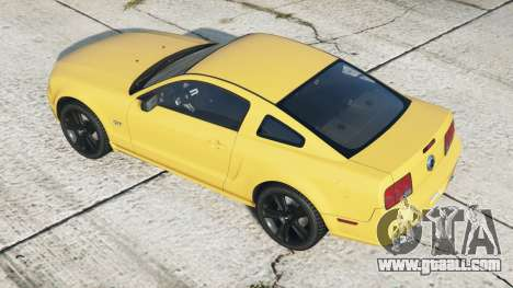 Ford Mustang GT 2005〡black rims〡add-on