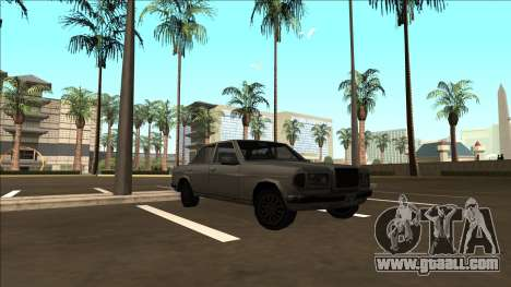 Rear-wheel-drive Admiral for GTA San Andreas