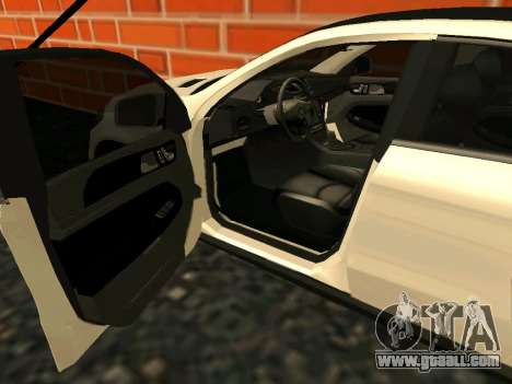 Mercedes-Benz GLE 63 AMG RUS Plates for GTA San Andreas