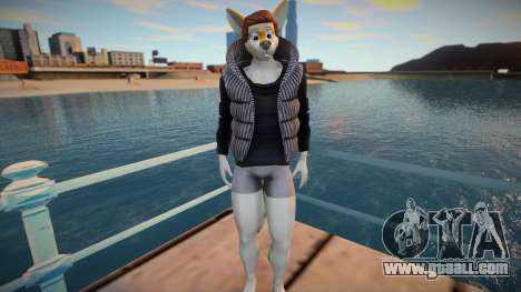 Furry Skin Sims4 for GTA San Andreas