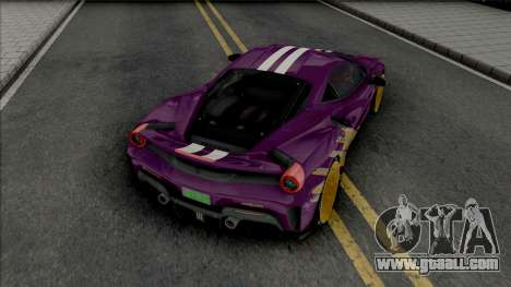 Ferrari 488 Pista for GTA San Andreas