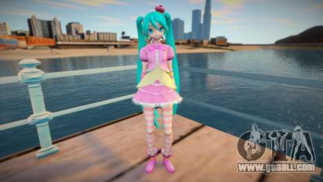 PDFT Hatsune Miku Princess for GTA San Andreas