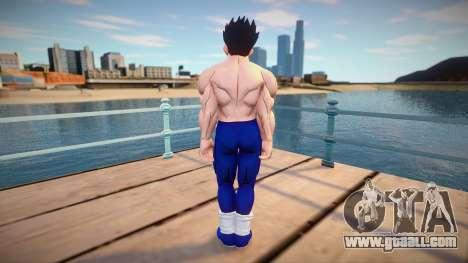 Gohan no shirt from Dragon Ball Xenoverse 2 for GTA San Andreas
