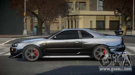 Nissan Skyline R34 PSI-S for GTA 4