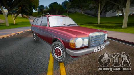 Mercedes-Benz W123 2.0 AT 230T for GTA San Andreas