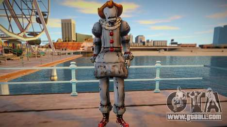Pennywise skin for GTA San Andreas