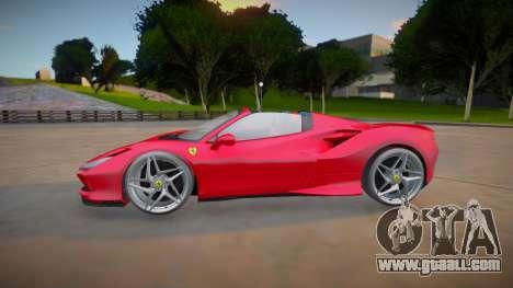 Ferrari F8 Spider 2021 (good model) for GTA San Andreas