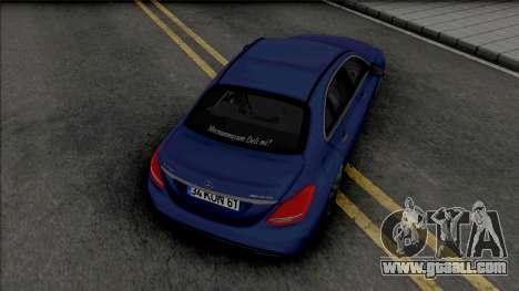 Mercedes-Benz C200 W205 AMG for GTA San Andreas