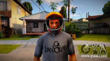 Motorcycle helmet for GTA San Andreas