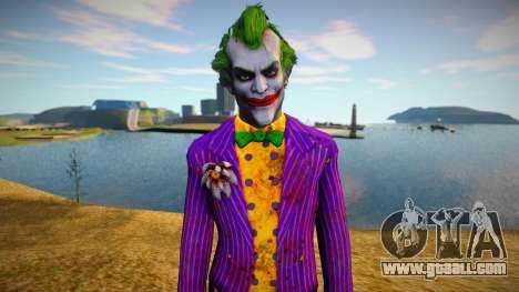 Joker - Batman Arkham Asylum for GTA San Andreas