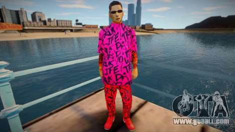 Wuzimu Fashion for GTA San Andreas