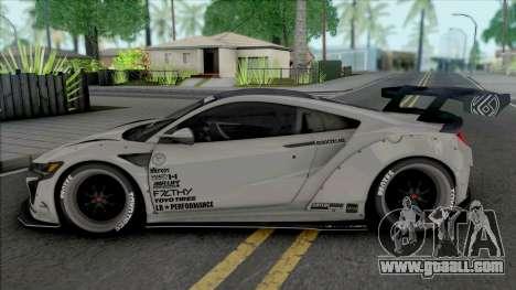 Honda NSX Liberty Walk Perfomance for GTA San Andreas