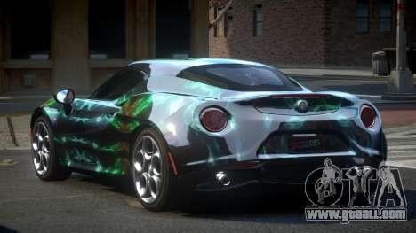 Alfa Romeo 4C U-Style S2 for GTA 4