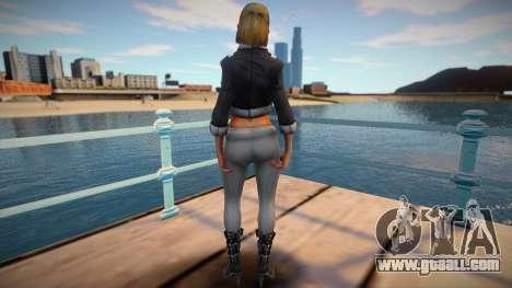 Girl Saints Row 3 style for GTA San Andreas