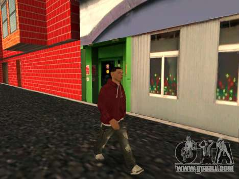 Great skin - Guy Alex for GTA San Andreas