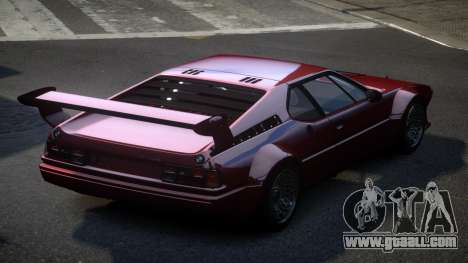 BMW M1 IRS for GTA 4