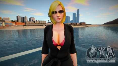 DOA Tina Armstrong Fashion Casual V4 Slumber Par for GTA San Andreas