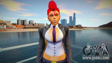 Crimsom Viper (Street Fighter IV) v2 for GTA San Andreas
