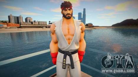 Ryu skin for GTA San Andreas