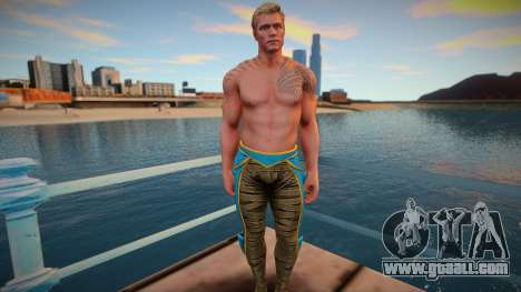 Aquaman from Injustice 2 skin for GTA San Andreas