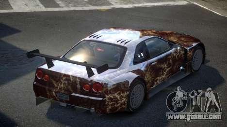Nissan Skyline R34 US S2 for GTA 4