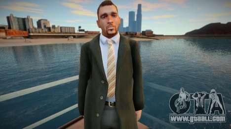 American in Coat 2 for GTA San Andreas