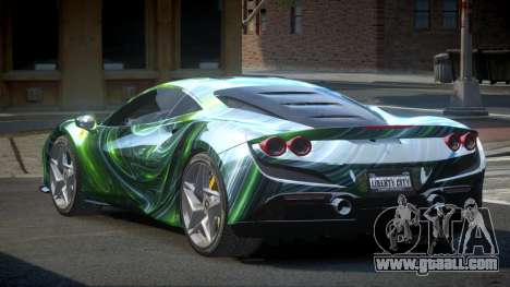 Ferrari F8 BS-R S3 for GTA 4