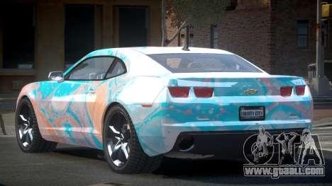 Chevrolet Camaro BS-U S4 for GTA 4