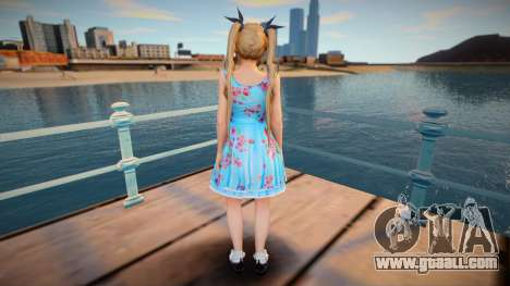 DoA5:LR Marie Rose - Blue Lolita for GTA San Andreas