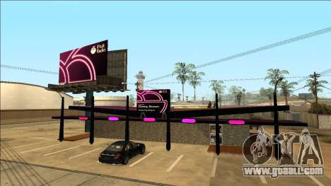 iFruit Radio Store for GTA San Andreas