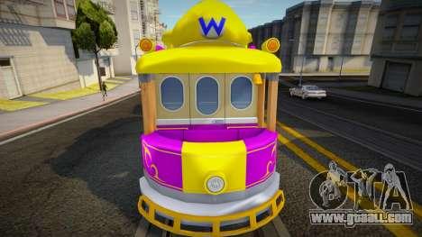 Mario Kart 8 Tram W for GTA San Andreas