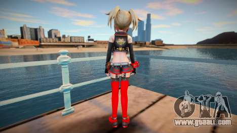 Megadimension Neptunia Collab Makers - GodEater for GTA San Andreas