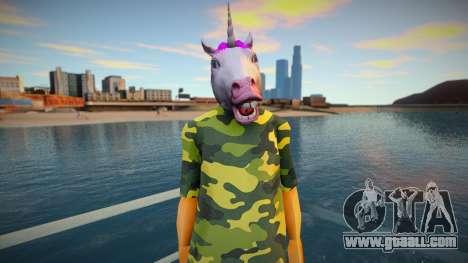 Str3sU ComputerS Skin - Unicorn Style for GTA San Andreas