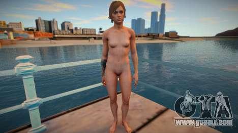 Ellie nude for GTA San Andreas