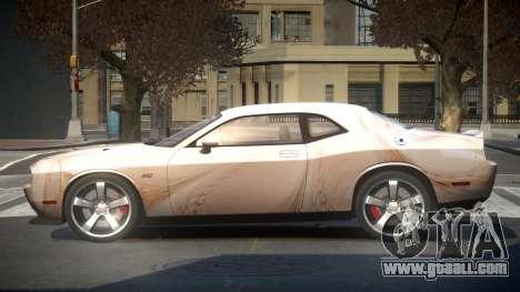 Dodge Challenger SRT GS-U S8 for GTA 4