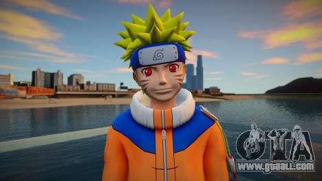 Naruto Kyuubi Chakra for GTA San Andreas