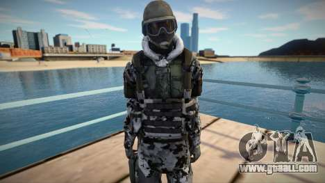 New Swat skin (good model) for GTA San Andreas