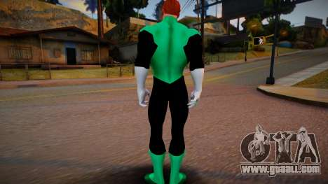 Green Lantern DC Universe for GTA San Andreas