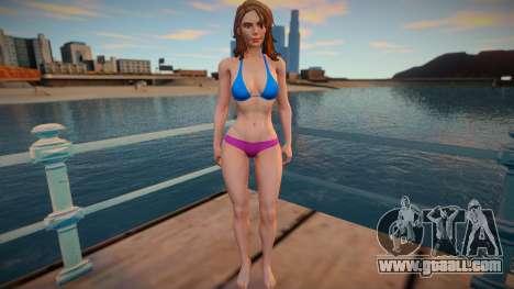 Diana Prince for GTA San Andreas