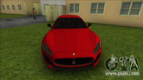 Maserati Gran Tourismo for GTA Vice City